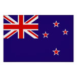 New Zealand Flag Posters