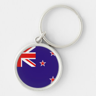 New Zealand flag premium keychain