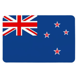 New Zealand Flag Rectangular Photo Magnet