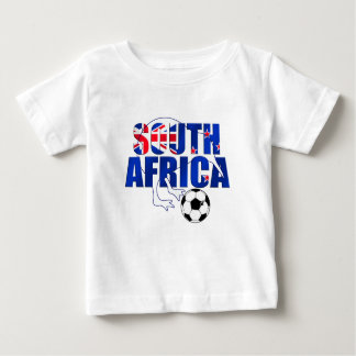 New Zealand Flag South Africa Soccer Gifts Baby T-Shirt