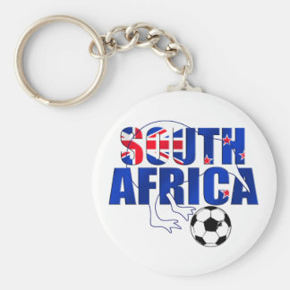 New Zealand Flag South Africa Soccer Gifts Key Chains