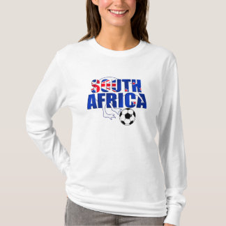 New Zealand Flag South Africa Soccer Gifts T-Shirt