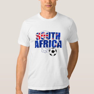 New Zealand Flag South Africa Soccer Gifts T Shirt