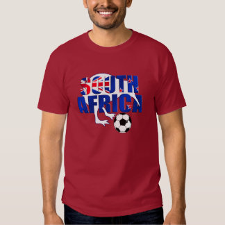 New Zealand Flag South Africa Soccer Gifts Tshirt