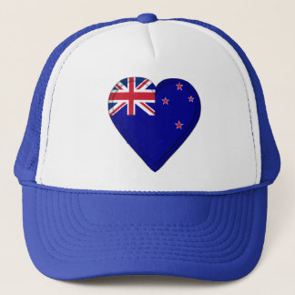New Zealand flag Trucker Hat