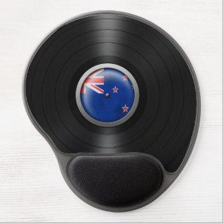 New Zealand Flag Vinyl Record Album Graphic Gel Mouse Pads