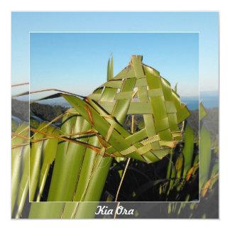New Zealand Flax 13 Cm X 13 Cm Square Invitation Card