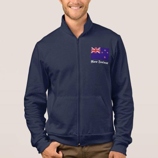 New Zealand fleece track jacket