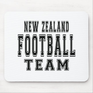 New Zealand Football Team Mouse Pad