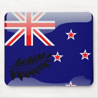 New Zealand glossy flag Mouse Mat
