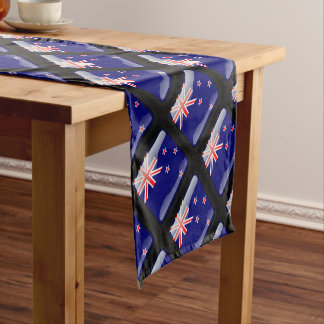 New Zealand glossy flag Short Table Runner
