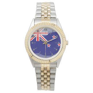 New Zealand glossy flag Watch
