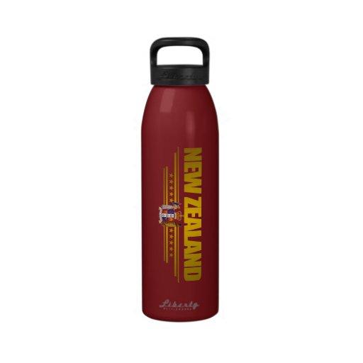 """New Zealand Gold"" Water Bottle"