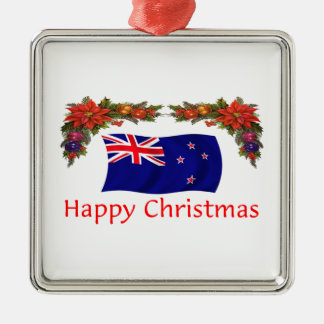 New Zealand Happy Christmas Christmas Ornament