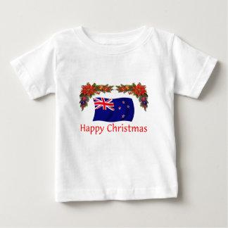 New Zealand Happy Christmas T Shirts