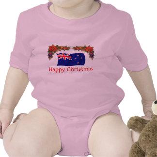 New Zealand Happy Christmas Tshirts