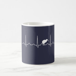 NEW ZEALAND HEARTBEAT COFFEE MUG