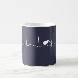 NEW ZEALAND HEARTBEAT COFFEE MUG