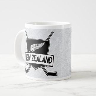 New Zealand Ice Hockey Flag Big Mug