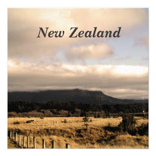 New Zealand Announcements
