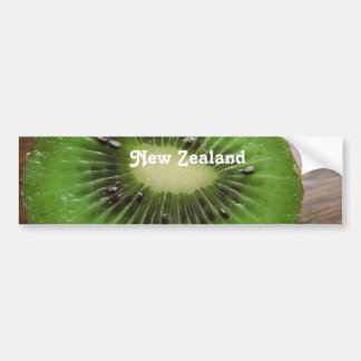New Zealand Kiwi Bumper Sticker