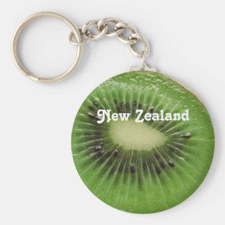 New Zealand Kiwi Keychain