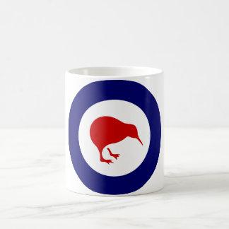new zealand kiwi roundel military aviation cup basic white mug