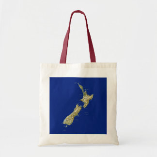 New Zealand Map Bag