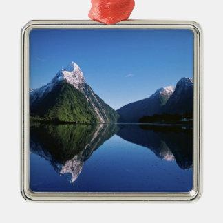 New Zealand, Mitre Peak, Milford Sound, Christmas Ornament