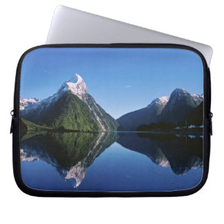 New Zealand, Mitre Peak, Milford Sound, Laptop Sleeve