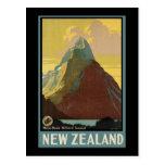 New Zealand Mitre Peak Milford Sound Postcards