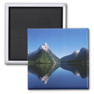 New Zealand, Mitre Peak, Milford Sound, Square Magnet