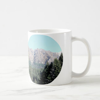 New Zealand Mountains and Pines at Middle Earth Coffee Mug