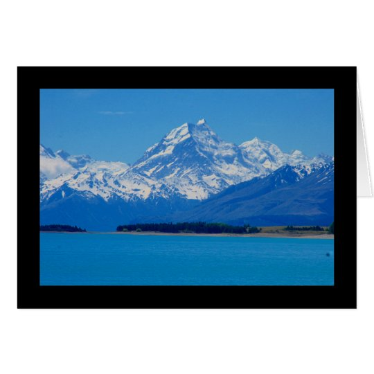 new zealand mountains card