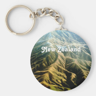 New Zealand Mountains Key Chains