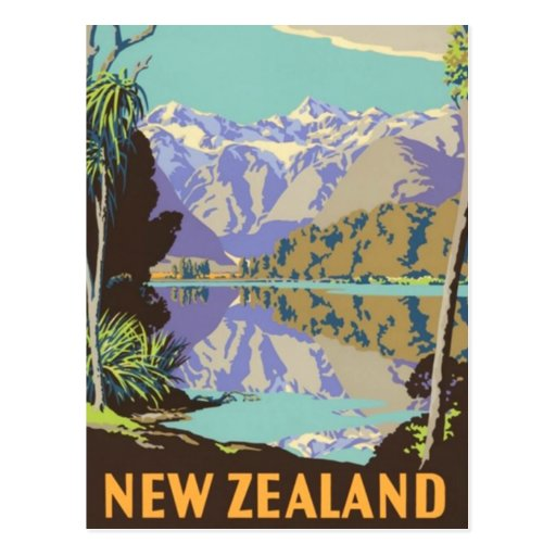 New Zealand Mountian Post Cards