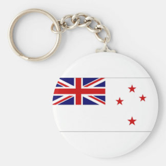 New Zealand Naval Ensign Key Chain