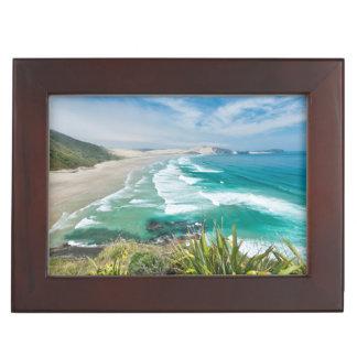 New Zealand, North Island, Cape Reinga 2 Keepsake Box