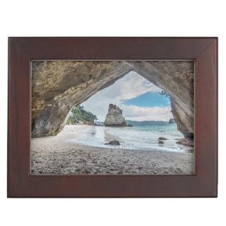 New Zealand, North Island, Coromandel Peninsula Keepsake Box
