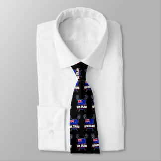 New Zealand NZ Lacrosse Tie