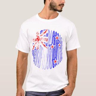 New Zealand on White Tee Shirt