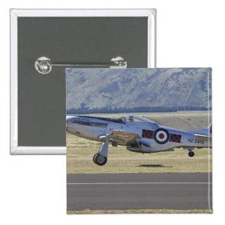 New Zealand, Otago, Wanaka, Warbirds Over 4 15 Cm Square Badge
