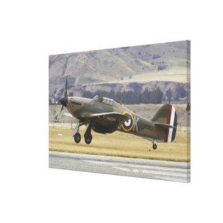 New Zealand, Otago, Wanaka, Warbirds Over 6 Canvas Print