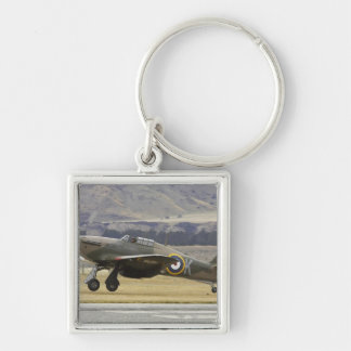 New Zealand, Otago, Wanaka, Warbirds Over 6 Key Ring