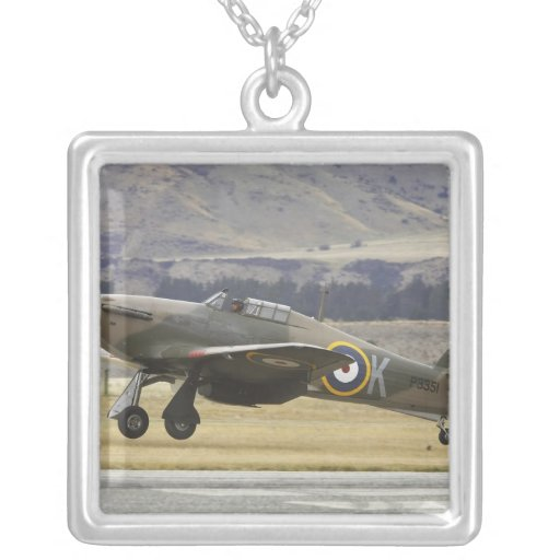 New Zealand, Otago, Wanaka, Warbirds Over 6 Custom Necklace