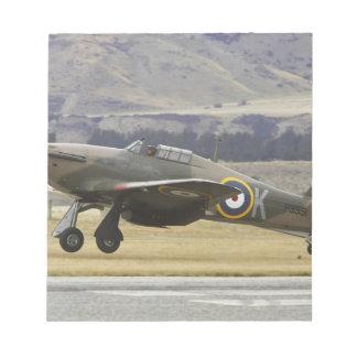 New Zealand, Otago, Wanaka, Warbirds Over 6 Notepads