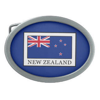 New Zealand Oval Belt Buckles