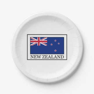 New Zealand 7 Inch Paper Plate