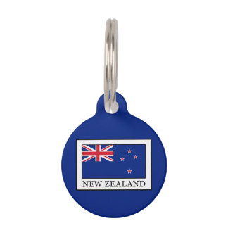 New Zealand Pet Name Tags