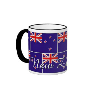 New Zealand Pride Coffee Mugs